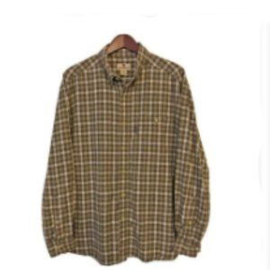 WOOLRICH Beige Light Flannel 2XL Long